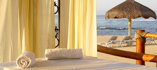 Enjoy Your Spa Treatments Beachside