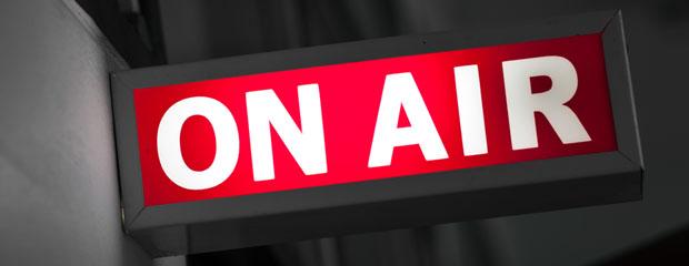 Radio City Music Hall Live on Air Sign
